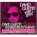 Cd David Guetta  One Love  2009 Duplo [made In Usa]